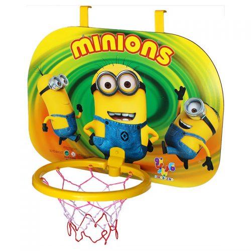 بازی ست بسکتبال دیواری سوپر با توپ طرح مینیون فکر بازینو 2
