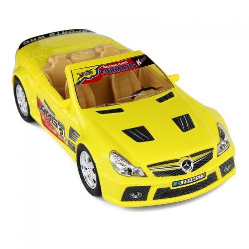 بازی ماشین بنز کوپه وکیوم زرد درج