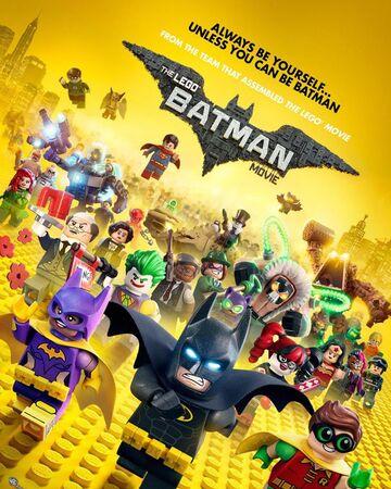 LegoBatmanMovie poster