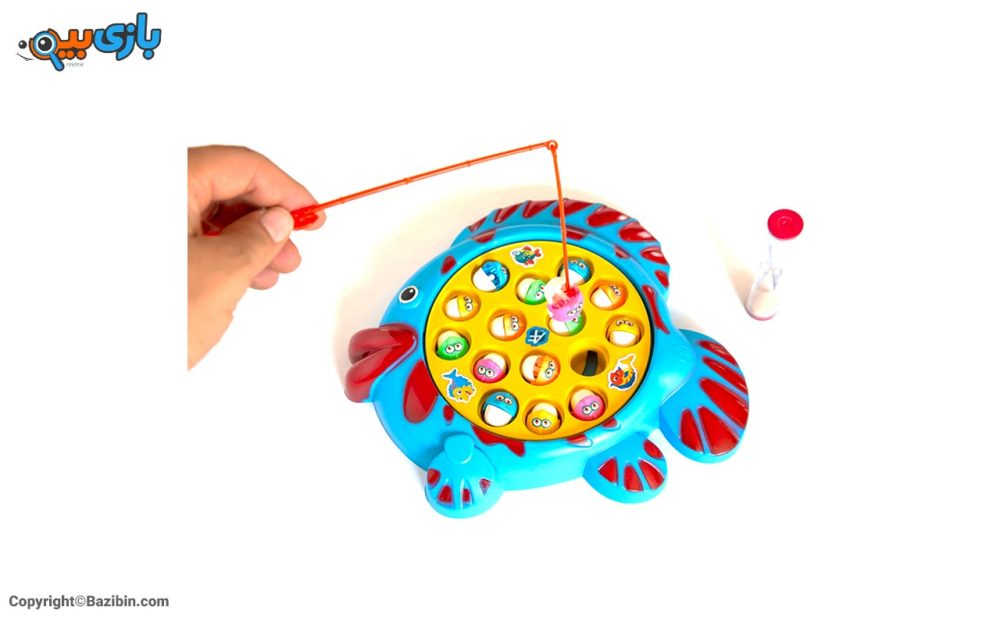 بازی ماهیگیری باتری خور رو کارتی آرمان فردا 5